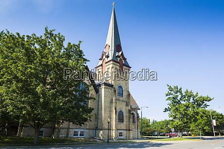 city church in michigan city michigan