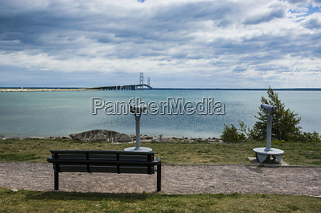 st ignace on the shores of