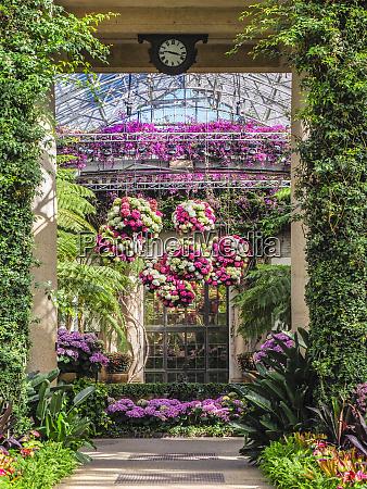 usa pennsylvania indoor garden with large