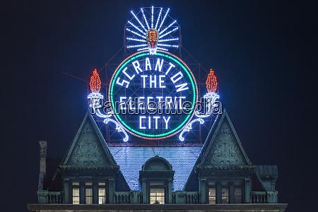 usa pennsylvania scranton scranton electric city