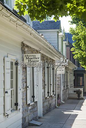 usa pennsylvania lititz johannes mueller house