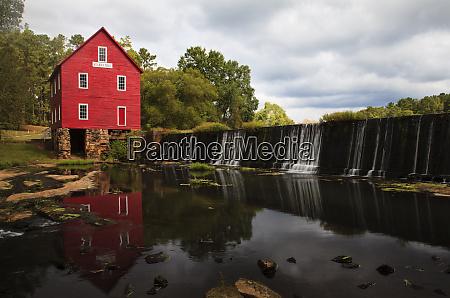 usa georgia savannah historic starrs mill