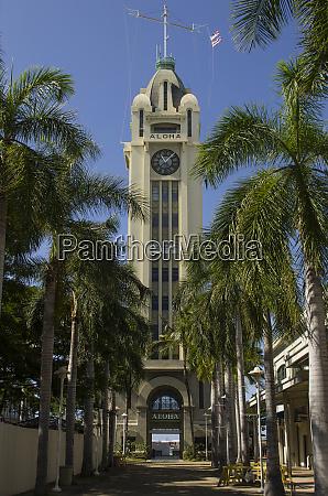 usa hawaii oahu honolulu historic aloha