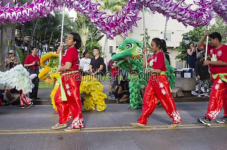 usa hawaii oahu honolulu dragon and