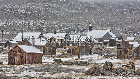 usa california bodie abandoned buildings in