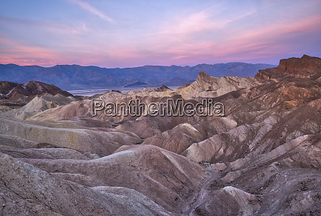 usa california death valley sunrise over