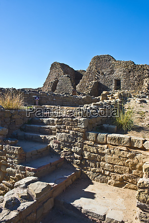 usa new mexico aztec ruins national