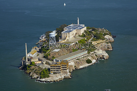 usa california san francisco alcatraz island
