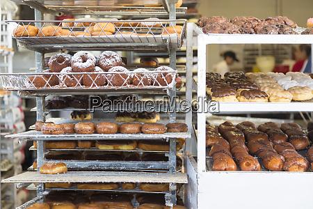 doughnut shop interior los angeles california