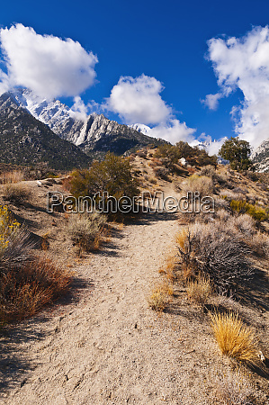 the whitney portal national recreation trail