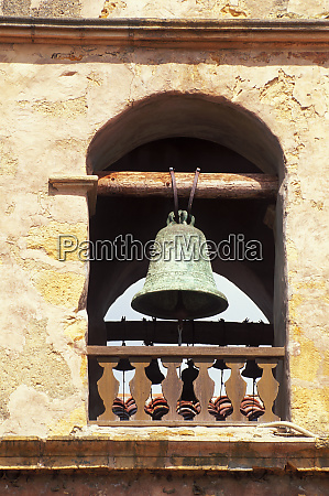 detail of the bell tower at