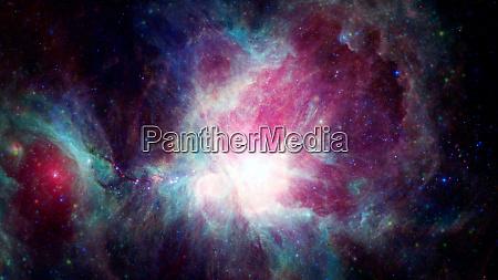 lebhafter weltraumnebel supernova UEberrest elemente