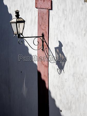 portugal obidos wrought iron lantern with