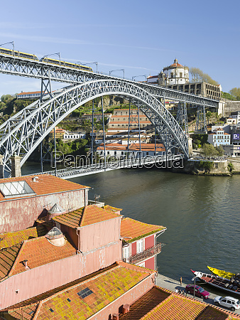 view from the old town ribeira