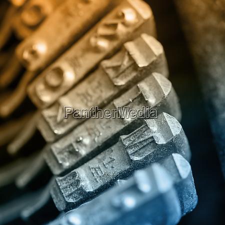 eine nostalgische schreibmaschine