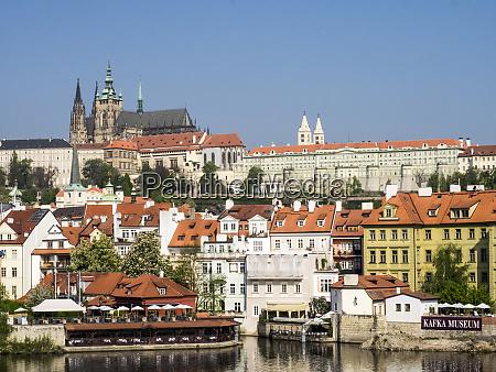 czech republic prague prague castle and