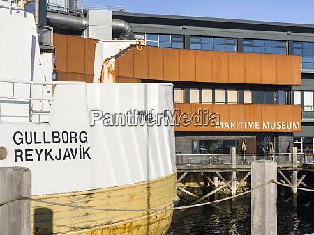 viking maritime museum in reykjavik harbor