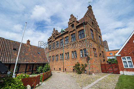 town hall in ribe denmarks oldest