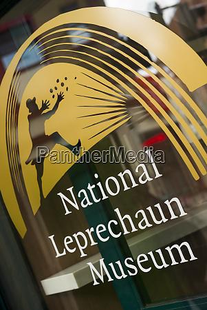 ireland dublin national leprechaun museum exterior