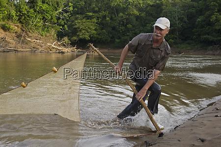dr kelly swing seine net fishing