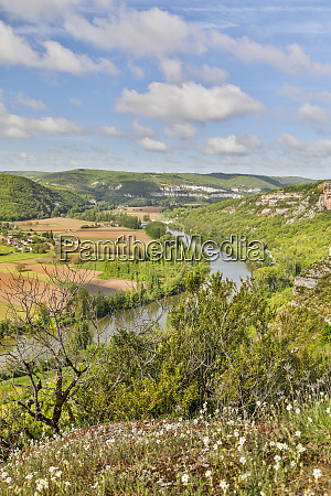 france lot river valley a look