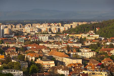 romania transylvania brasov new city buildings