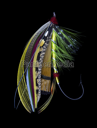 atlantic, salmon, fly, designs, 'green, doctor' - 27887999