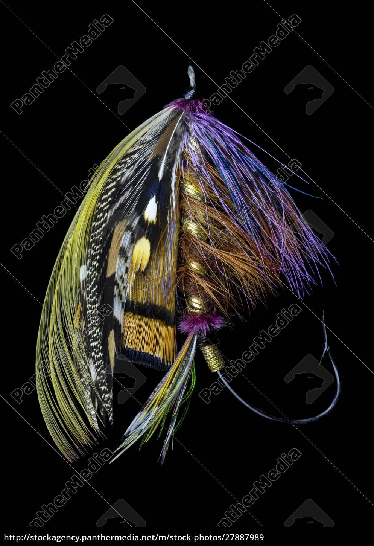 atlantic, salmon, fly, entwirft, 'blacker, unknown' - 27887989