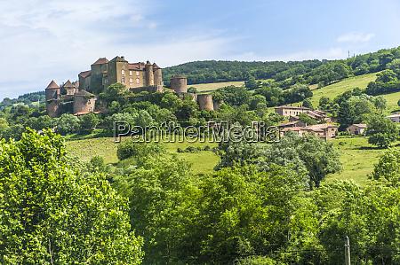 berze castle burgundy france