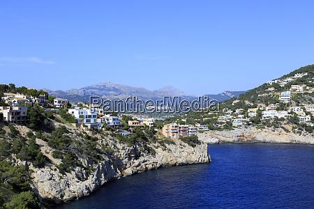 spain balearic islands mallorca waterfront port