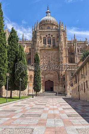 europe spain salamanca cathedral exterior