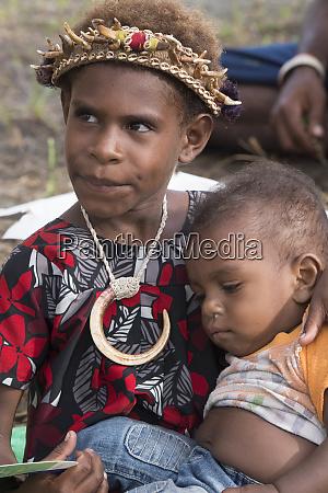melanesien papua neuguinea sepik river gebiet