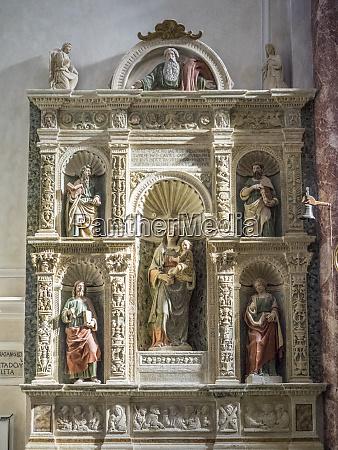 italy basilicata matera interior of the