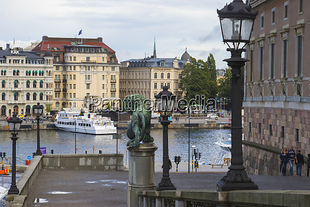 shot from gamla stan old city