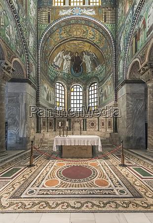 italy ravenna basilica of san vitale