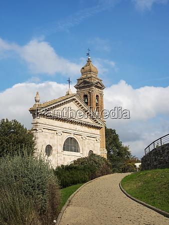italy monticiano madonna del soccorso church
