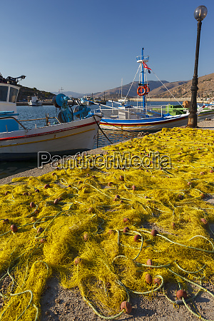 fishing boats chios island greece