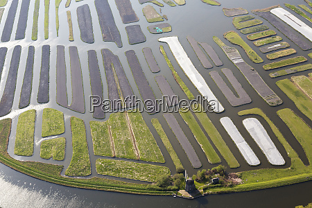 windmill and polder or re claimed