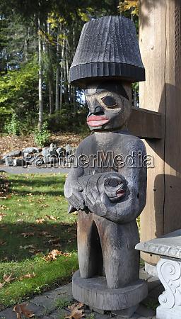 canada british columbia vancouver island totem