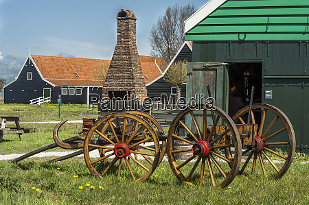 a quaint historic scene of country