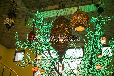 netherlands rotterdam middle eastern themed lamps