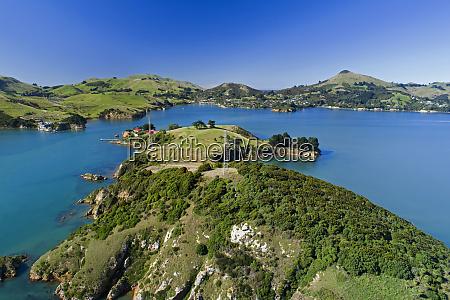 quarantaeneinsel portobello otago halbinsel und otago