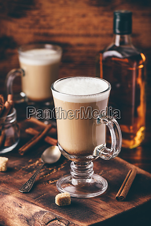 irischer kaffee mit zimt