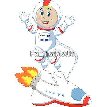 astronauten cartoon