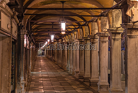 arcades at st marks square in