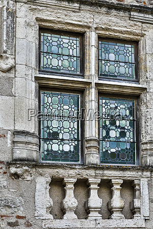 frankreich cahors bleiglasfenster