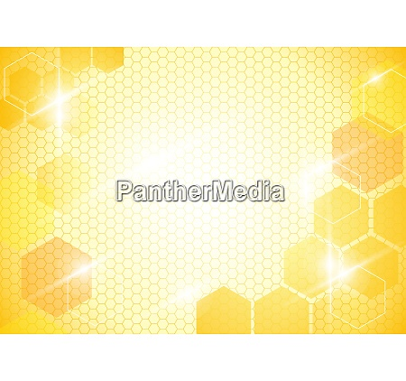 abstract background with honeycombs