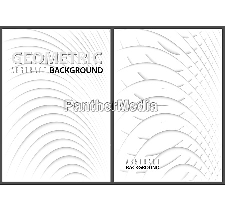 abstract backgrounds with paper graphic layers