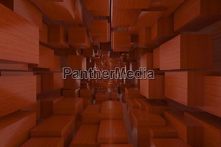 3d rendering von hintergruenden abstrakt rote