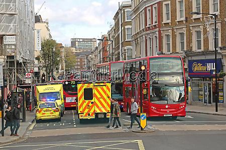 krankenwagen london